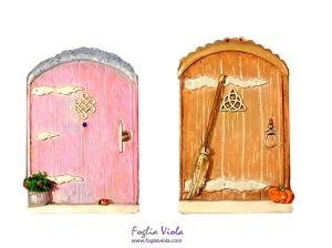 due doors